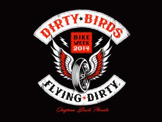 Dirty Birds – Bike Week Shirt